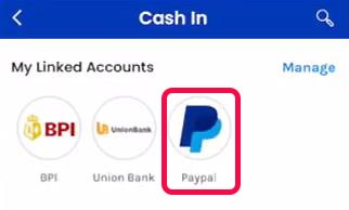 GCash linked accounts
