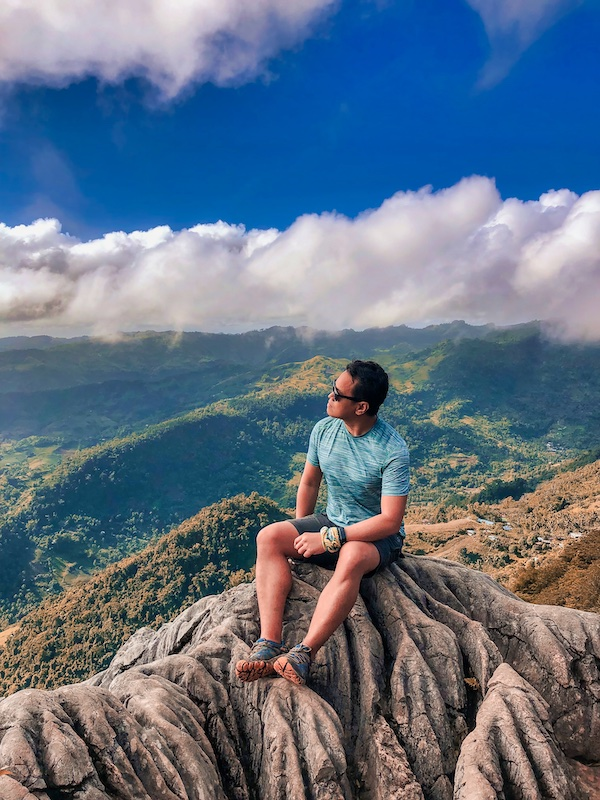Ian Limpangog in Mount Mauyog in Balamban Cebu