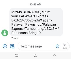 Tracking Code Palawan Express
