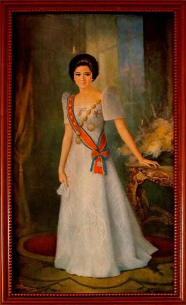 Portrait of Imelda Marcos