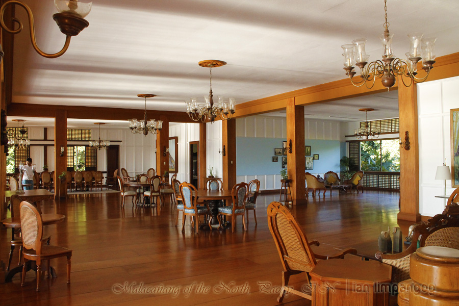 Inside Malacanang of the North