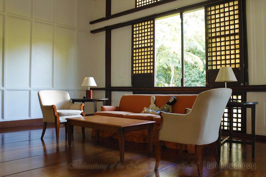Inside Malacanang of the North