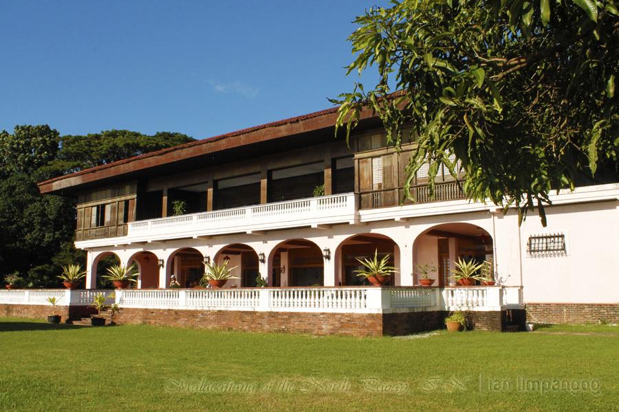 Malacanang of the North Paoay Lake wing
