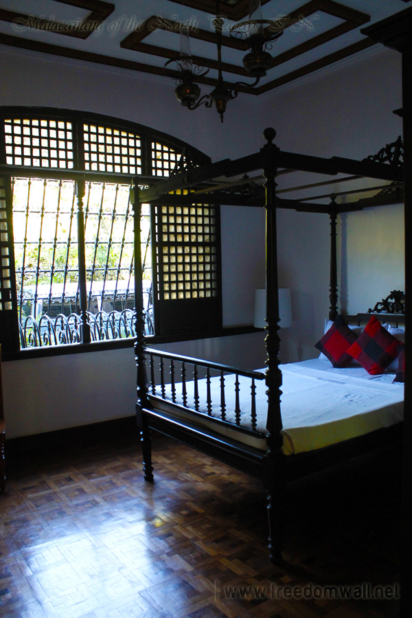 Malacanang of the North bedroom