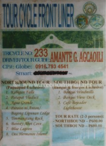 Pagudpud Tour Cycle
