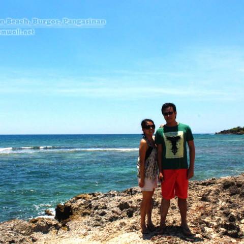 cabongaoan beach rocks photo