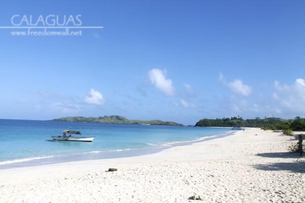 Mahabang Buhangin Beach, Calaguas