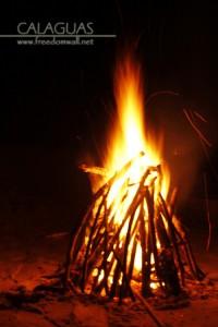 calaguas bonfire