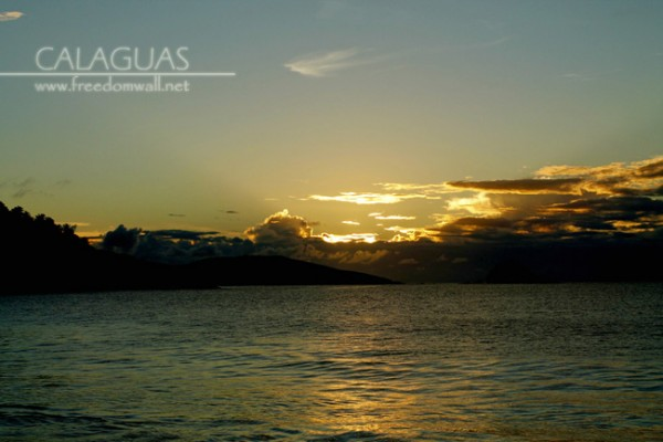 calaguas sunset