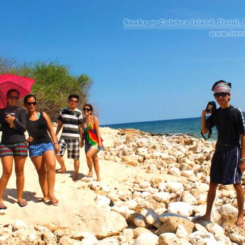 culebra or snake island tour dasol pangasinan