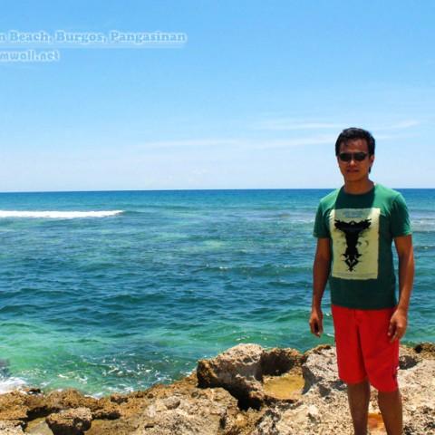 freedom wall at cabongaoan beach
