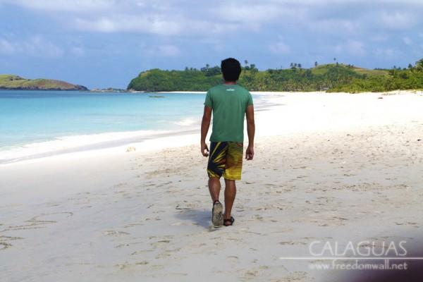 ian walking away