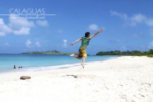 Ian Limpangog' s jump shot in Calaguas