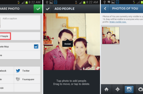 Photos of You: Instagram tagging feature
