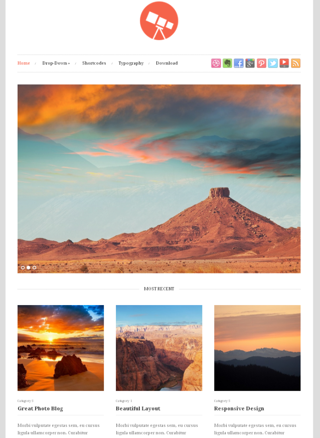 Tetris WordPress Theme