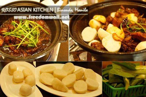 Rosso Asian Kitchen shabu shabu