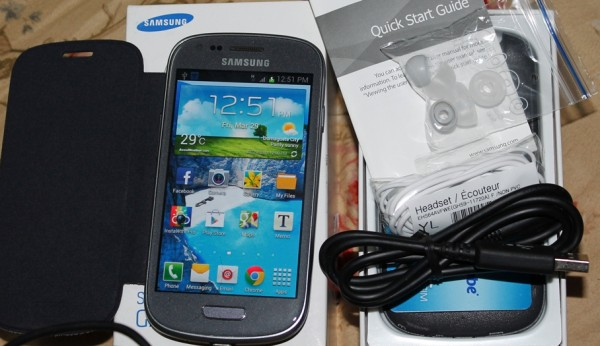 Unboxed Samsung Galaxy SIII mini