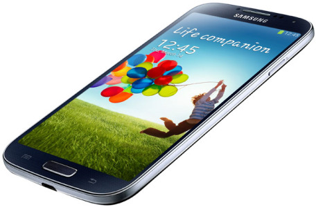 Samsung Galaxy S4 (Photo Credit: Samsung)