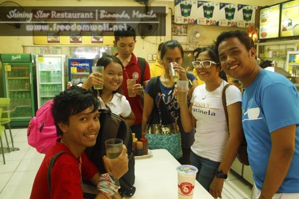 Shining Star Restaurant's cogon root juice
