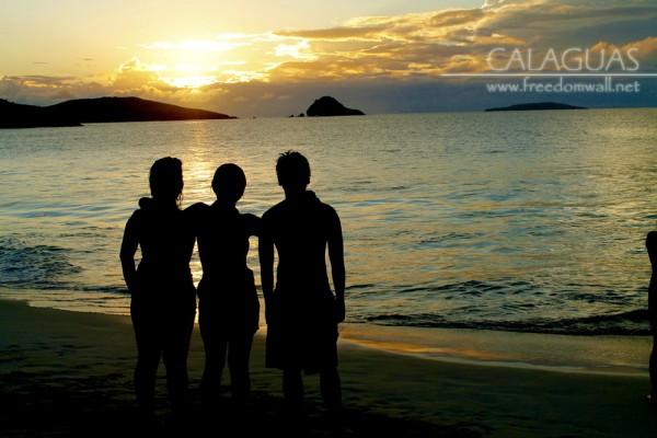 Silhouette of Joana, Lyndi, and Ken