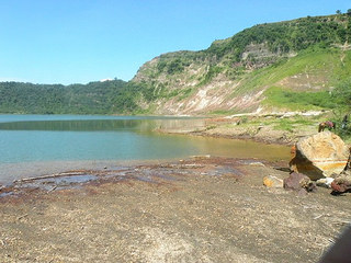 taal volcano main crater