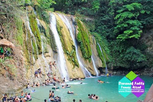 Daranak Falls in Tanay, Rizal