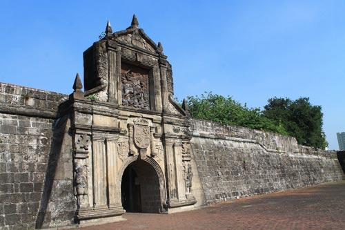 Fort Santiago Gate, Intamuros
