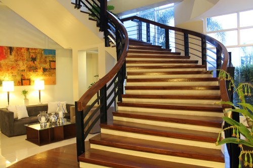 The Harvest Hotel Staircase