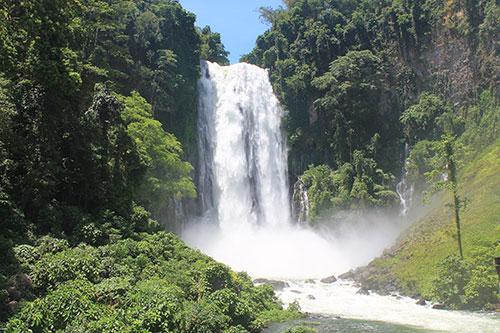 The majestic, maria Cristina Falls