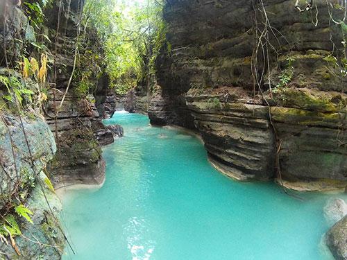 The amazing canyons