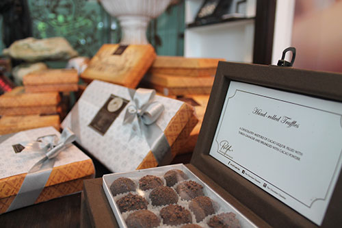 Hand-rolled Truffles