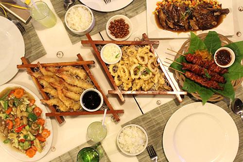 Ocean Garden Restaurant's treat to Cebu Food Crawlers