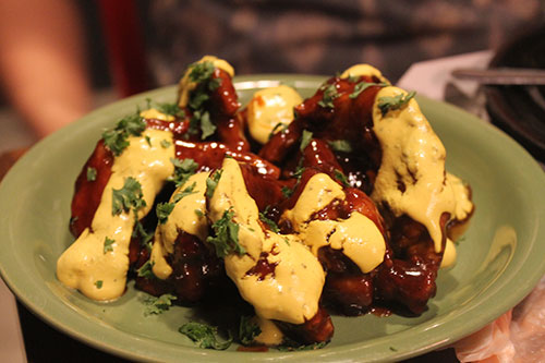 Hickory Mustard Wings by Gibbs Hot Wings