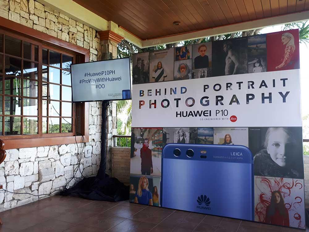 Huawei behind portrait photography workshop