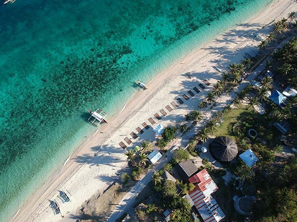 Pasil Beach, Kinatarcan Island