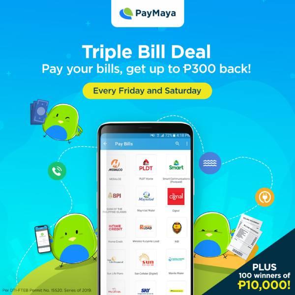 Pay Your Bills using PayMaya