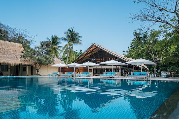 Swimming Pool, Club Paradise Palawan