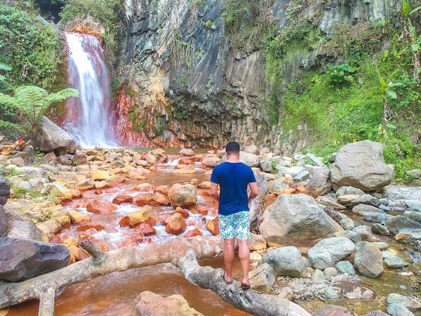 Pulang Bato Falls, Valencia and Dumaguete